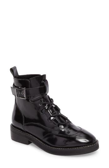 Steve Madden Braxton Moto Boot, Black