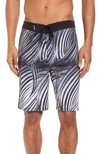 Hurley Phantom Crest Board Shorts, Black