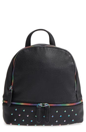 Bp. Studded Faux Leather Backpack - Black