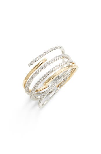 Bony Levy Openwork Diamond Ring