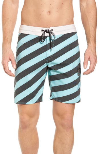 Volcom Stripey Stoney Boardshorts, Blue