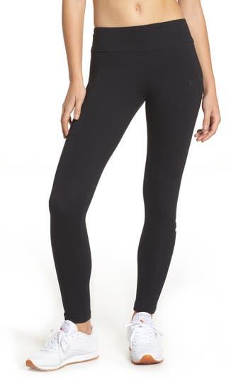 Reebok Classic Stretch Cotton Leggings, Black