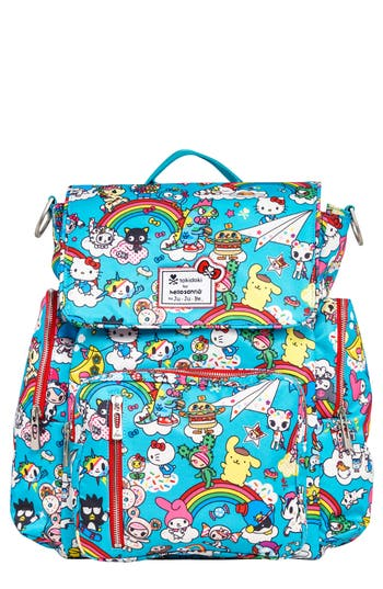 Infant JuJuBe X Tokidoki For Hello Sanrio Rainbow Dreams Sporty Diaper Backpack