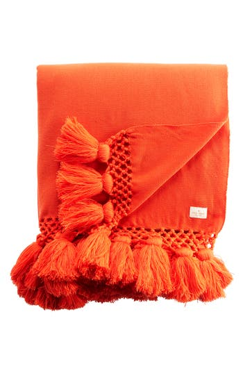Kate Spade New York Seaport Throw, Size One Size - Red