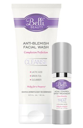 Belli Skincare Maternity Anti-Blemish Basics with Anti-Blemish Facial Wash  & Acne Control Spot Treatment