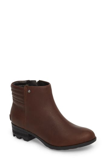 Sorel Danica Waterproof Bootie, Brown