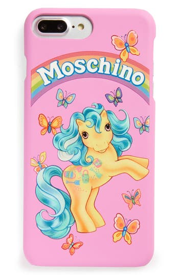 Moschino X My Little Pony Iphone 7 Plus Case - Pink