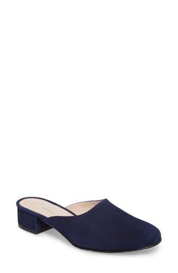 Patricia Green Ava Block Heel Mule, Blue