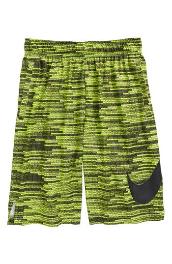 Boy's Nike Dry Training Shorts, Size S (8) - Yellow