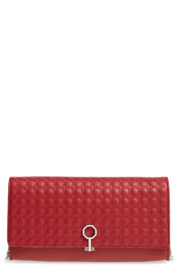 Louise Et Cie 'Yvet' Leather Flap Clutch - at NORDSTROM.com