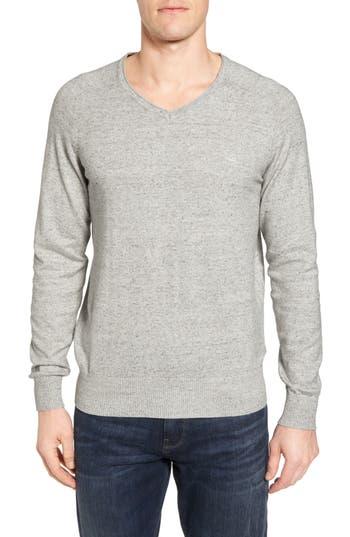 Rodd & Gunn Arbors Cotton V-Neck Sweater, Beige