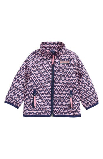 Infant Girls Vineyard Vines Whale Tail Mountain Weekend Quilted Jacket