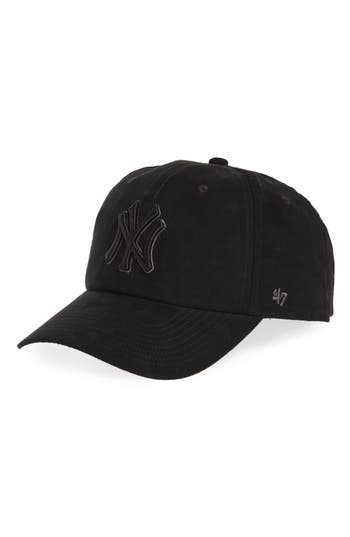 47 female womens 47 ultrabasic clean up new york yankees baseball cap black