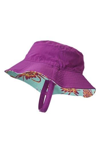 Infant Patagonia Bucket Hat - Purple