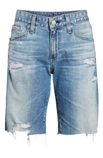 Nikki Cutoff Denim Shorts