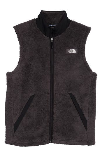 Men's The North Face Campshire Fleece Vest, Size Small - Grey