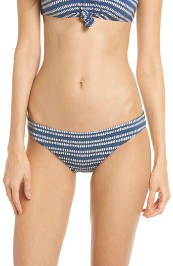 Dolce Vita Reversible Bikini Bottoms, Blue