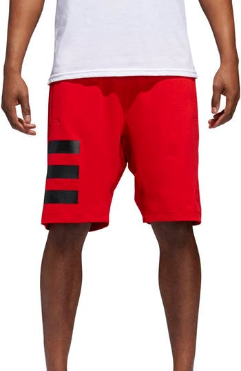 Men's Adidas Hype Icon Shorts, Size Small - Red