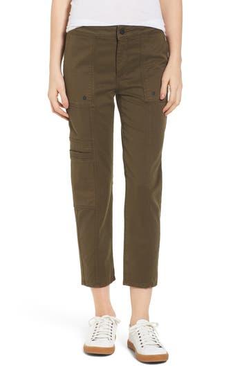 Dl1961 Elliot Slouchy Slim Cargo Pants, Brown
