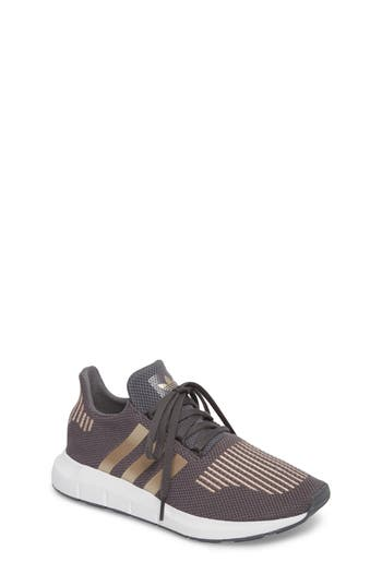 Kids Adidas Swift Run J Sneaker Size 6 M  Grey