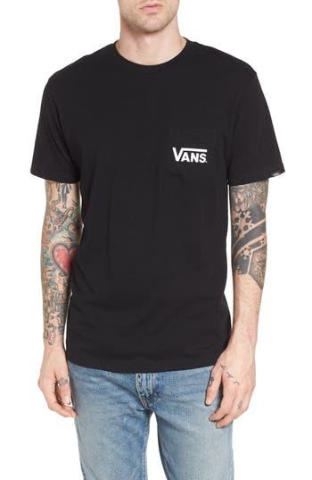 Vans Off The Wall Classic Pocket T-Shirt, Black