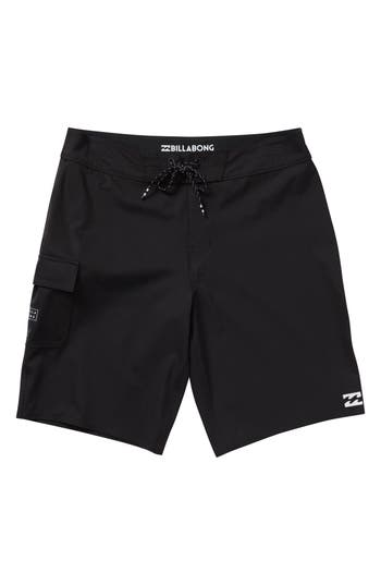Boys Billabong All Day X Board Shorts Size 27  Black
