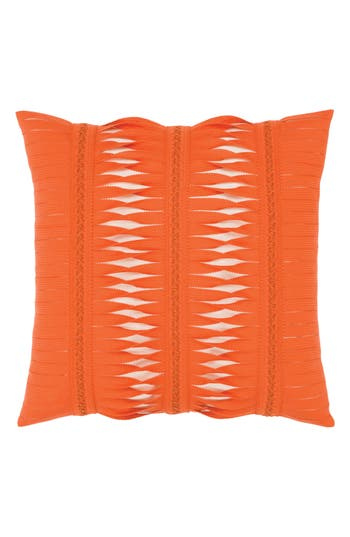 Elaine Smith Gladiator Coral Indoor/outdoor Accent Pillow, Size One Size - Orange
