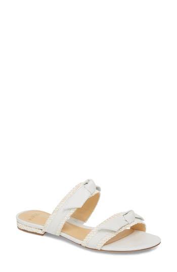 Women's Alexandre Birman Linda Slide Sandal, Size 8 M - White