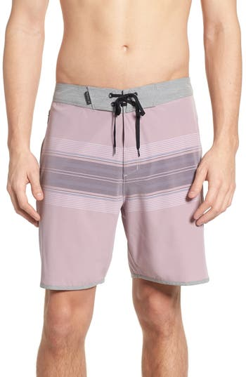Hurley Phantom Yesterday Board Shorts, Pink