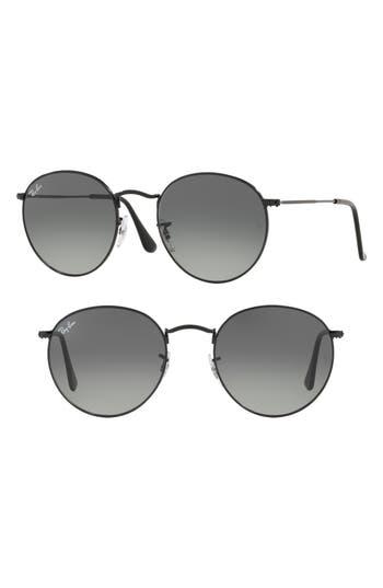 Ray-Ban 53mm Round Retro Sunglasses