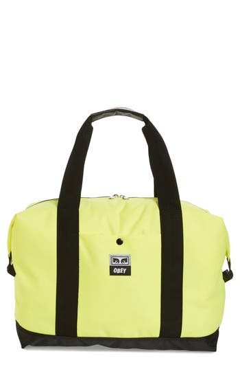 Obey Drop Out Duffel Bag - Green