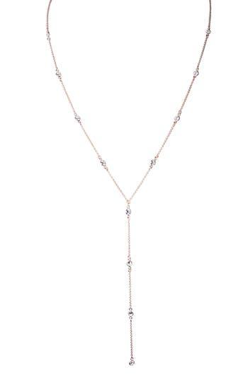 Jules Smith Isabella Crystal Y Necklace