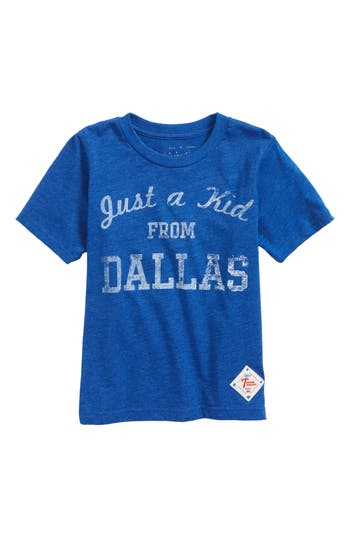 Boys 7Th Inning Stretch Just A Kid From Dallas TShirt