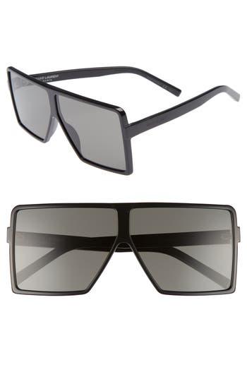 Saint Laurent SL 183 Betty 63mm Square Sunglasses