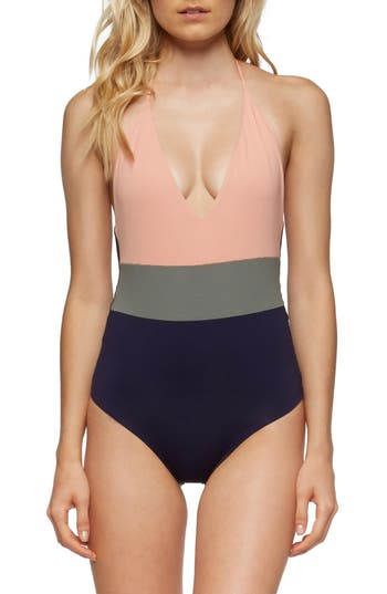 Tavik Chase One-Piece Swimsuit, Pink