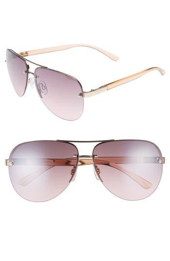 Women's Seafolly Caribbean 62Mm Rimless Aviator Sunglasses - Gold