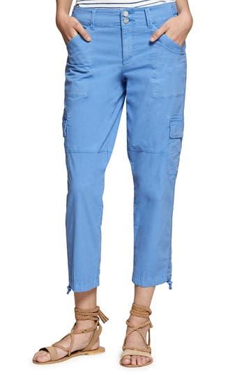 Sanctuary Terrain Crop Cargo Pants, Blue
