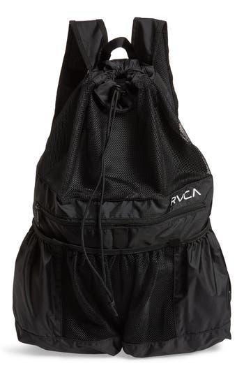Rvca Ripstop Mesh Backpack - Black