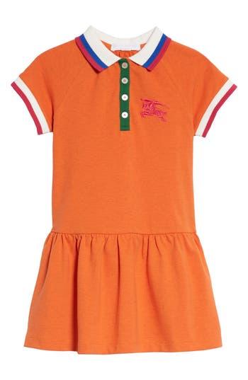 Girls Burbery Cali Polo Dress