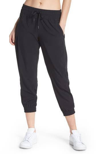 Zella Out & About 2 Crop Pants, Black