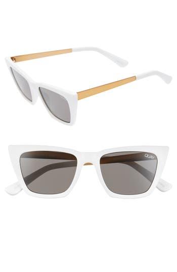 Quay Australia x Desi Perkins Don't @ Me 48mm Cat Eye Sunglasses