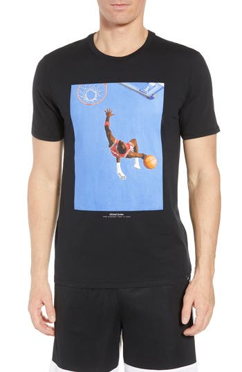 Nike Jordan Sports Illustrated Graphic T-Shirt, Black