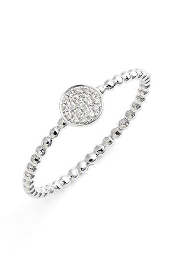 Women's Bony Levy 'Aurora' Diamond Pavé Circle Ring (Nordstrom Exclusive)