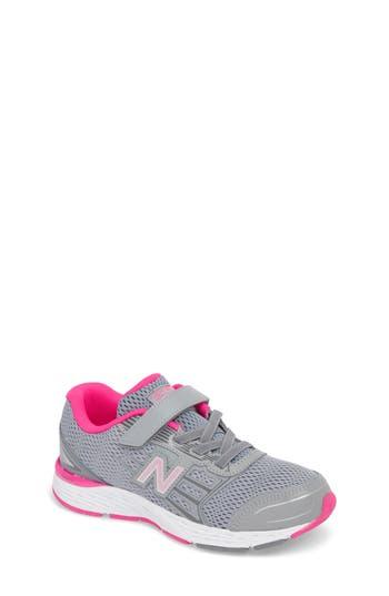 Boys New Balance 680V5 Sneaker Size 5 M  Grey