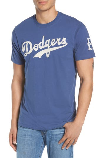 47 Mlb Vintage Fieldhouse Los Angeles Dodgers T-Shirt, Blue