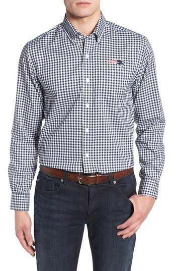 Men's Cutter & Buck New England Patriots - League Regular Fit Sport Shirt