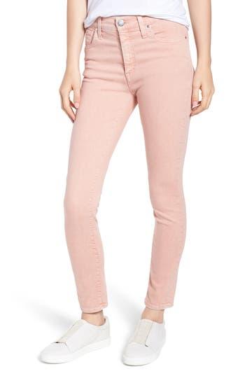 Caslon® Sierra High Waist Ankle Skinny Pants