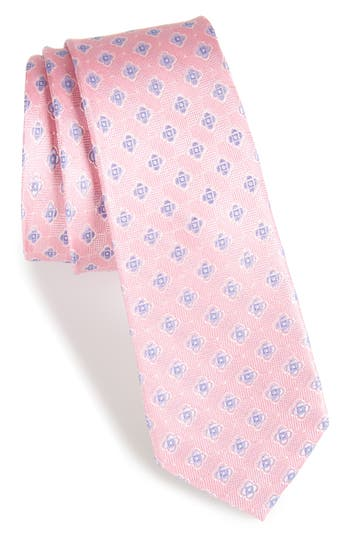 Boys Michael Kors Medallion Silk Tie Size One Size  Pink