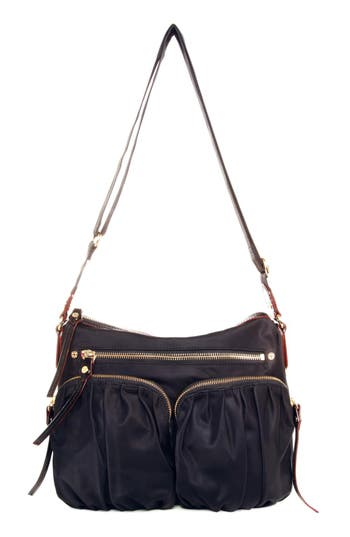 Mz Wallace 'Paige' Bedford Nylon Crossbody Bag -