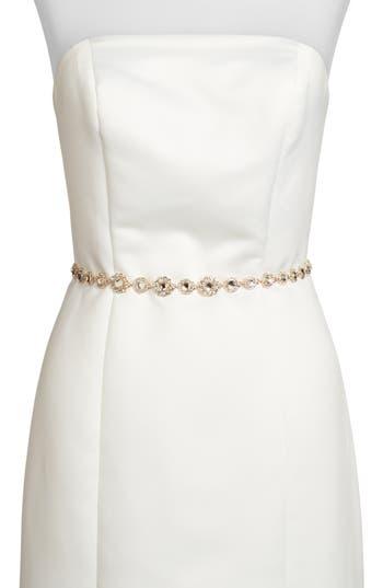 kate spade new york crystal bridal belt